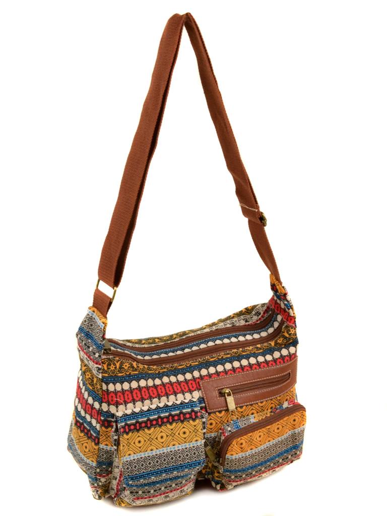 Сумка Женская Рюкзак ткань Индия 6084 YH772-2