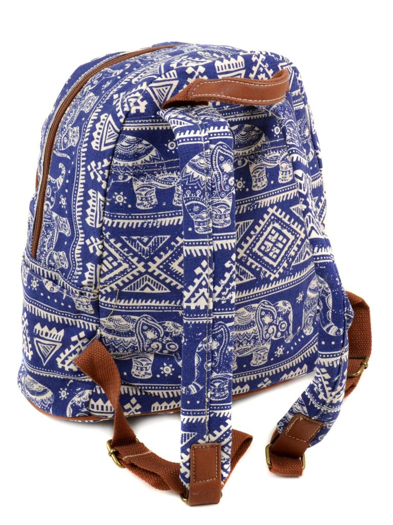 Сумка Женская Рюкзак ткань Индия 6126 YH571