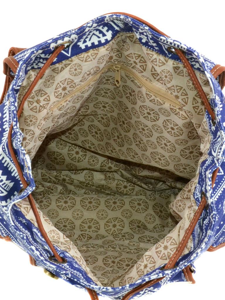 Сумка Женская Рюкзак ткань Индия 6180 YH571