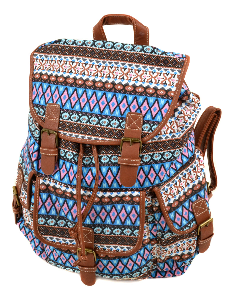 Сумка Женская Рюкзак ткань Индия 6180 YH866-1
