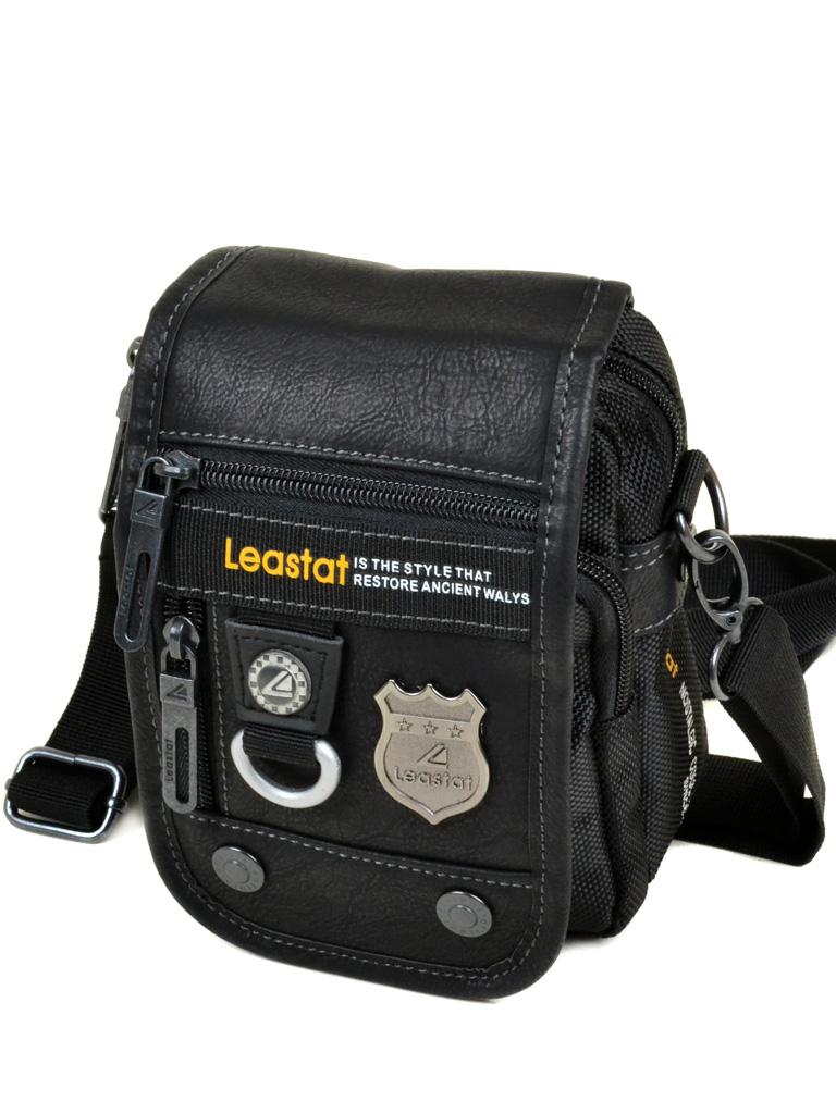 Сумка Мужская Планшет нейлон Leastat 204-3 black