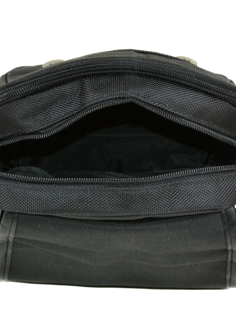 Сумка Мужская Планшет нейлон Leastat 310-1 black - фото 4