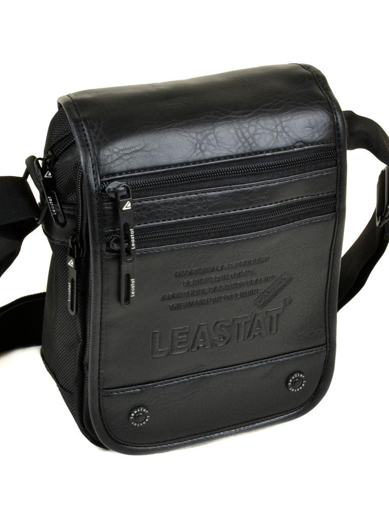Сумка Мужская Планшет нейлон Leastat 310-1 black