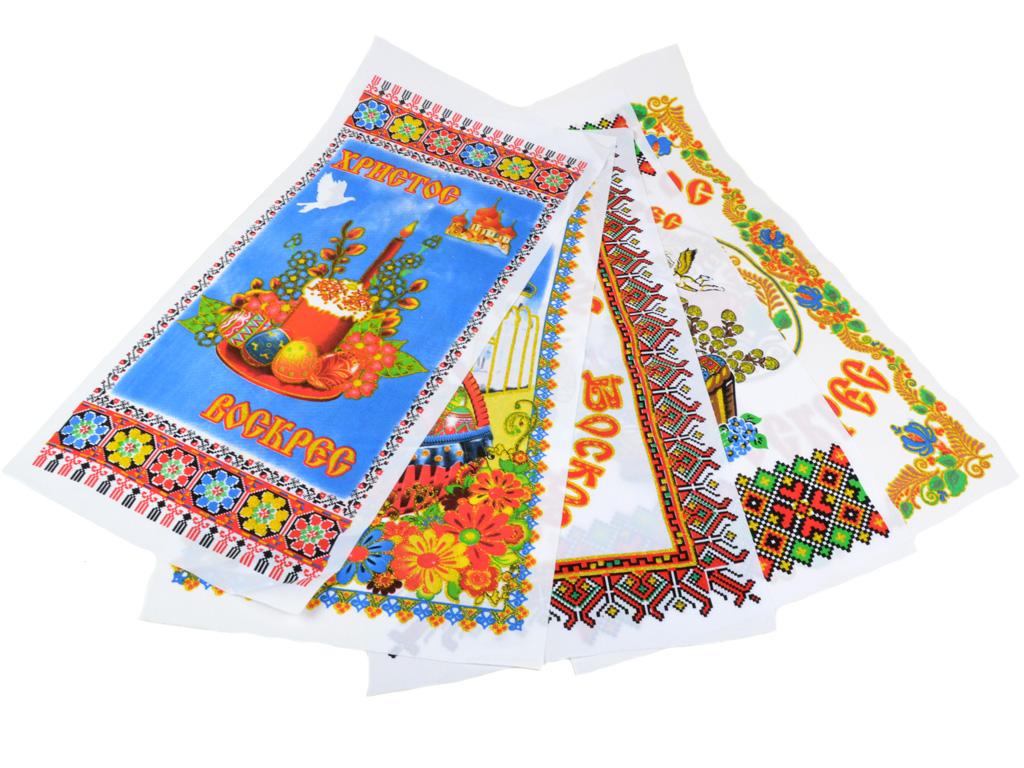Полотенце Кухонное ткань Пасхальное 0301 5шт