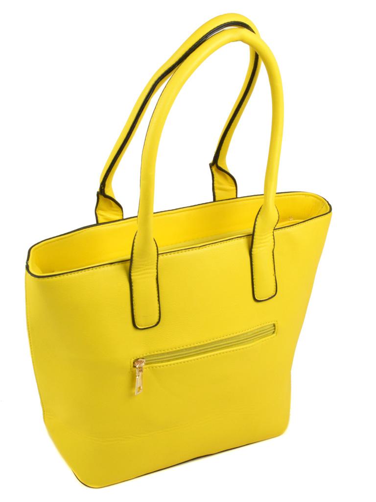Сумка Женская Классическая иск-кожа 3-01 16159-1 yellow