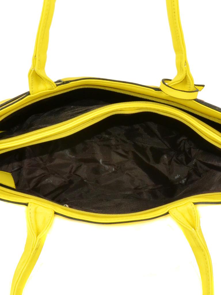 Сумка Женская Классическая иск-кожа 3-01 1789 yellow