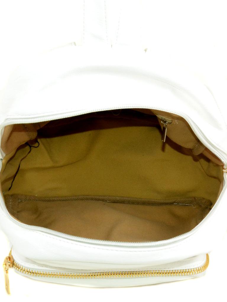 Сумка Женская Классическая иск-кожа 3-01 D107 white