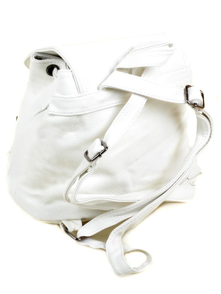 Сумка Женская Классическая иск-кожа 3-01 D108 white