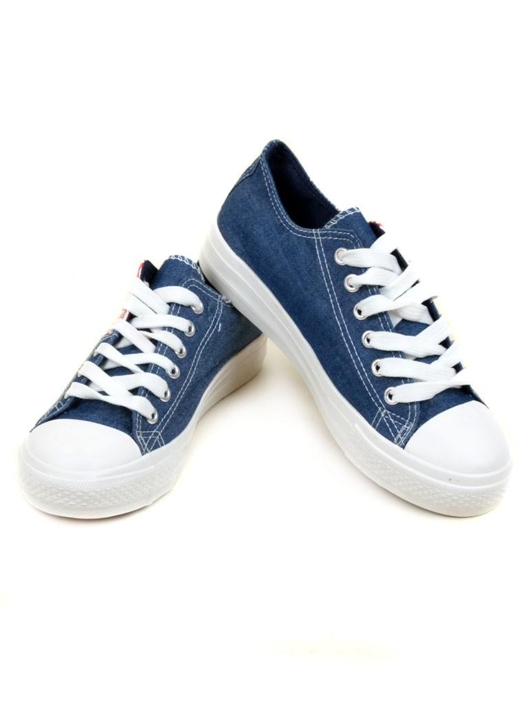 Обувь Женская  Кеды ABC 213 dark-blue 40(р)