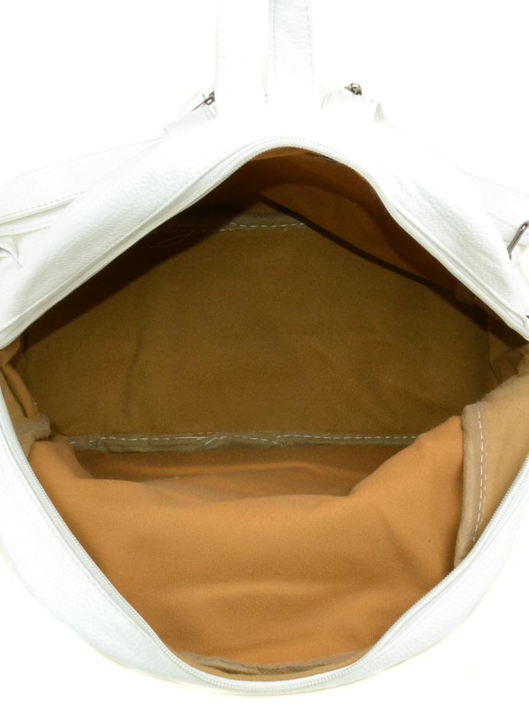 Сумка Женская Классическая иск-кожа 3-01 D134 white