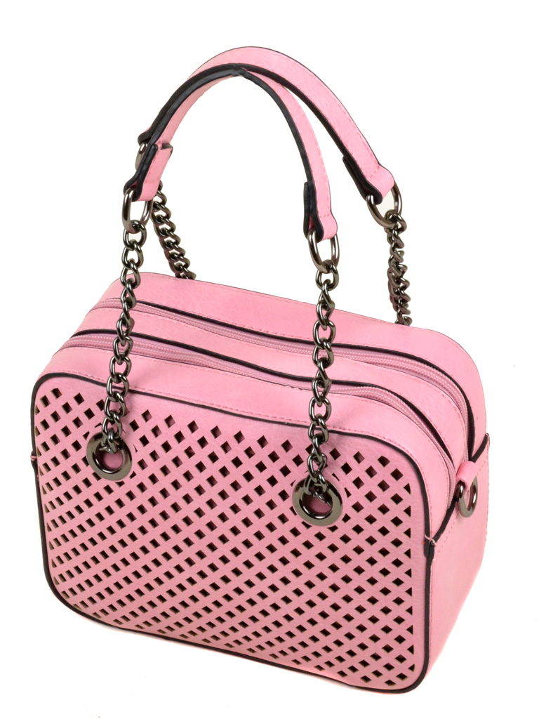 Сумка Женская Клатч иск-кожа 3-01 827 pink