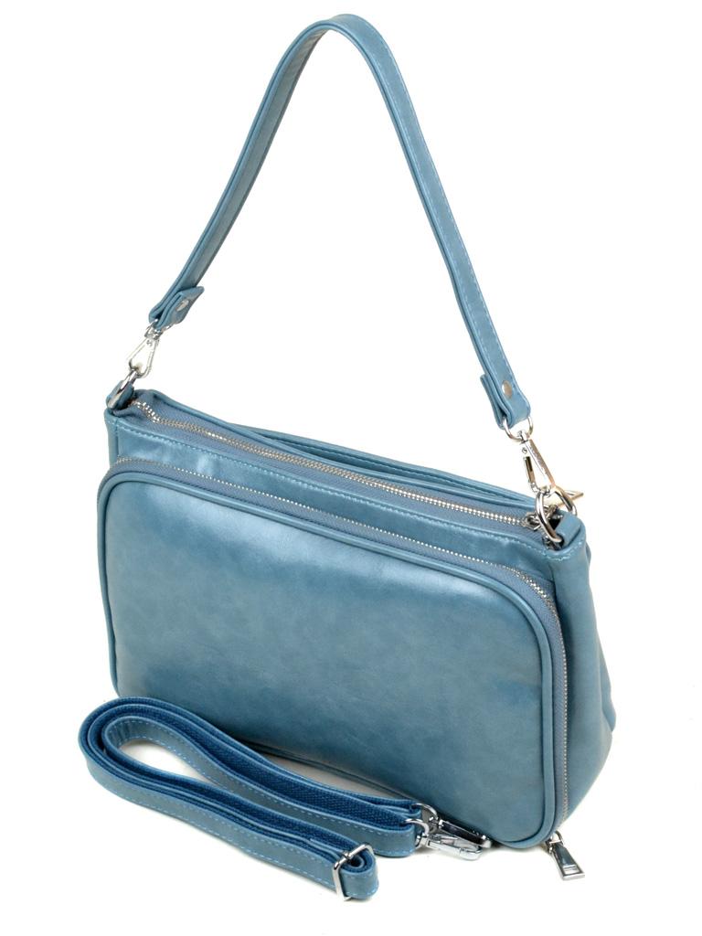 Сумка Женская Клатч иск-кожа Podium 3-02 382028-1317 blue - фото 3