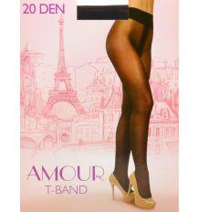 Колготки Женские капрон Amour 20 DEN 2-size Antracite 2(р) Распродажа