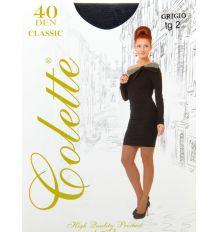 Колготки Женские капрон Colette 40 DEN 2-size grigio 2(р) Распродажа
