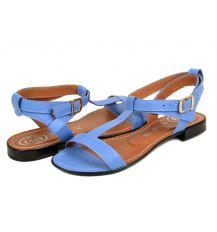 Босоножки кожа 41003 Lacs blue