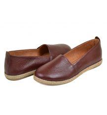 Туфли кожа 30820 Lacs bordo