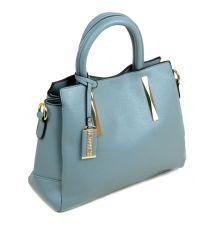 Сумка Женская Классическая иск-кожа Podium 6-01 8033-1 blue Распродажа