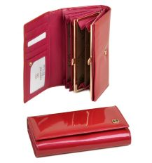 Кошелек Gold кожа Bretton W34-1 plum-red
