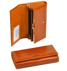 Кошелек ITA кожа ALESSANDRO PAOLI W46 orange
