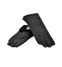 Перчатка Женская иск-кожа МариClassic F17/17 мод2 black флис