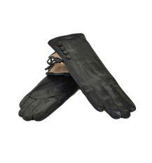 Перчатка Женская кожа МариClassic F24/17 мод1 black шерсть