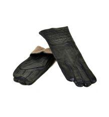 Перчатка Женская кожа МариClassic F24/17 мод10 black шерсть