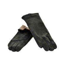 Перчатка Женская кожа МариClassic F24/17 мод11 black шерсть