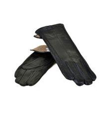 Перчатка Женская кожа МариClassic F24/17 мод3 black шерсть