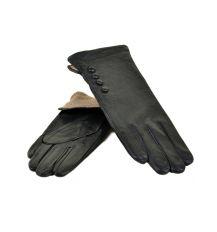 Перчатка Женская кожа МариClassic F24/17 мод6 black шерсть