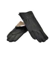 Перчатка Женская кожа МариClassic F24/17 мод7 black шерсть