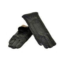 Перчатка Женская кожа МариClassic F24/17 мод8 black шерсть