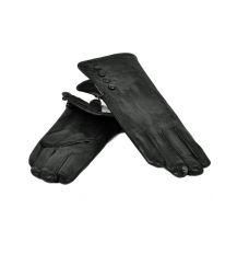Перчатка Женская кожа МариClassic F24-17/1 мод1 black флис