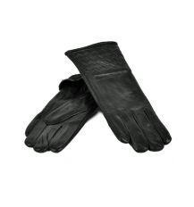 Перчатка Женская кожа МариClassic F24-17/1 мод10 black флис