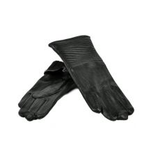 Перчатка Женская кожа МариClassic F24-17/1 мод13 black флис
