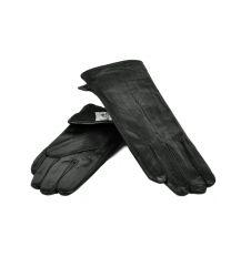 Перчатка Женская кожа МариClassic F24-17/1 мод14 black флис