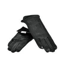 Перчатка Женская кожа МариClassic F24-17/1 мод2 black флис