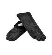 Перчатка Женская кожа МариClassic F24-17/1 мод7 black флис