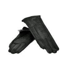 Перчатка Женская кожа МариClassic F24-17/1 мод8 black флис
