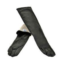 Перчатка Женская кожа МариClassic F25-1/17 50см мод1 black атлас