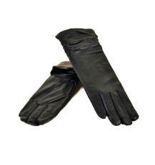 Перчатка Женская кожа МариClassic F31/17 331 33см black шерсть