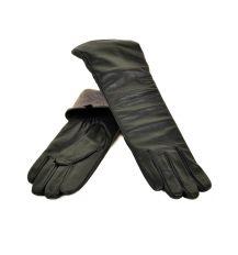 Перчатка Женская кожа МариClassic F31/17 332 40см black шерсть