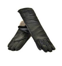 Перчатка Женская кожа МариClassic F31/17 40 40см black шерсть