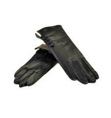 Перчатка Женская кожа МариClassic F31/17 мод2 black шерсть