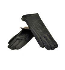 Перчатка Женская кожа МариClassic F31/17 мод5 black шерсть