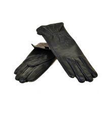 Перчатка Женская кожа МариClassic F31/17 мод6 black шерсть