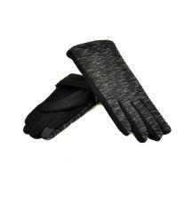 Перчатка Женская стрейч МариFashion F20/5-17 тачскрин black плюш