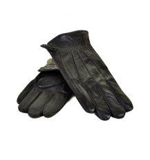 Перчатка Мужская кожа МариClassic M21-17/1 мод1 black махра
