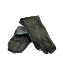 Перчатка Мужская кожа M21-17/1 мод2 black махра
