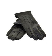 Перчатка Мужская кожа МариClassic M21-17/1 мод3 black махра