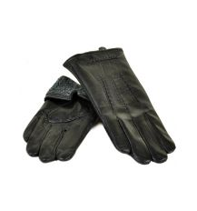 Перчатка Мужская кожа M21-17/1 мод4 black махра